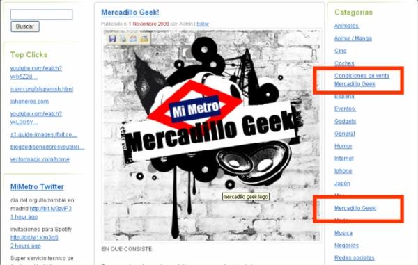 mercadillo geek ruta