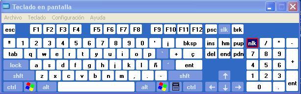 protégete de los keyloggers utilizando el teclado en pantalla de