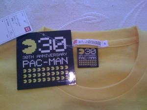 Edición especial 30 aniversario PACMAN by Namco+Uniqlo