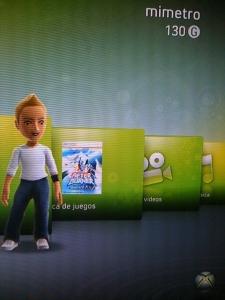 MiMetro Avatar Xbox.